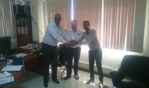 Ethiopian Decra Distributor wins award