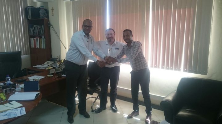Ethiopian Decra Distributor wins award