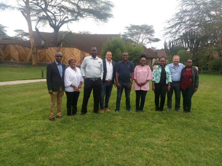 AHI Regional Director and Marketing Manager for Africa visit Kenya