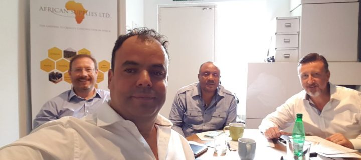 AHI Middle East and Africa director visited AHI Africa office